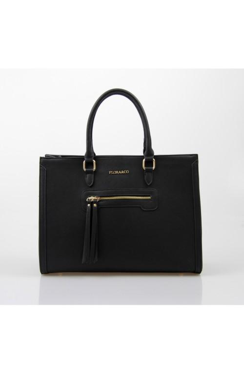 TOREBKA FLORA&CO torebka/kufer czarna